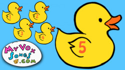 Five little ducks