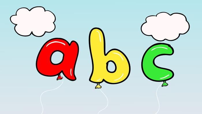 Letters Ending In C