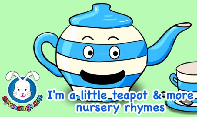 i am a little teapot coloring pages - photo #47