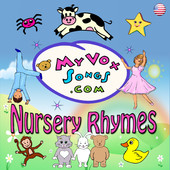 Nursery Rhymes MP3 Album (US lyrics) cover