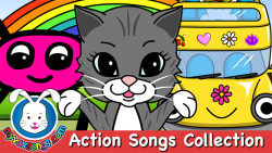 Non-stop Action Songs & Nursery Rhymes