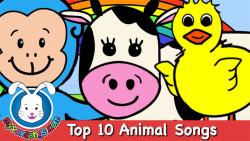 Top 10 Animal Songs for Children