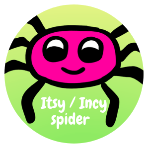 The Itsy Bitsy Spider / Incy Wincy Spider